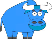 babe, the blue ox paper craft
