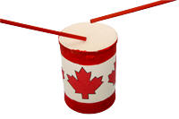 canada day drum