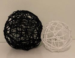yarn orb craft