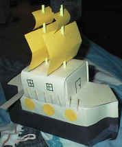 milk carton pirate ship craft