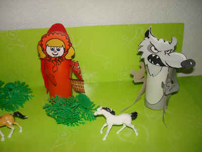 little red ridinghood craft