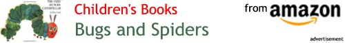 Amazon books about bugs and spiders