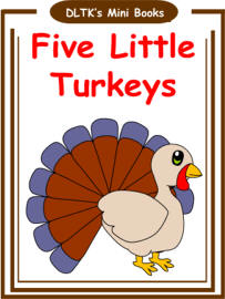 Thanksgiving printable mini book